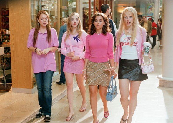 Mean Girls The Movie Fashion Rules mean girls style monochromatic